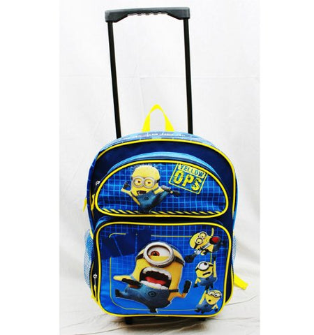 5Star-TD Despicable Me - Minions Anti Villain League Large Rolling Backpack -