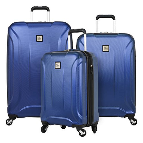 Skyway Nimbus 3.0 3-Piece Luggage Set in Cobalt Blue with FREE Travel Kit