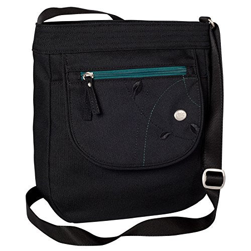 Haiku Women's Jaunt Eco Crossbody Handbag, Black Juniper