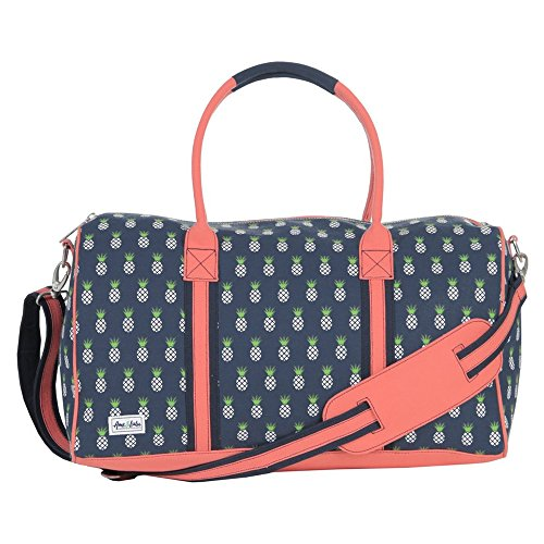 Ame & Lulu Puddle Jumper Small Duffel (Pineapple)