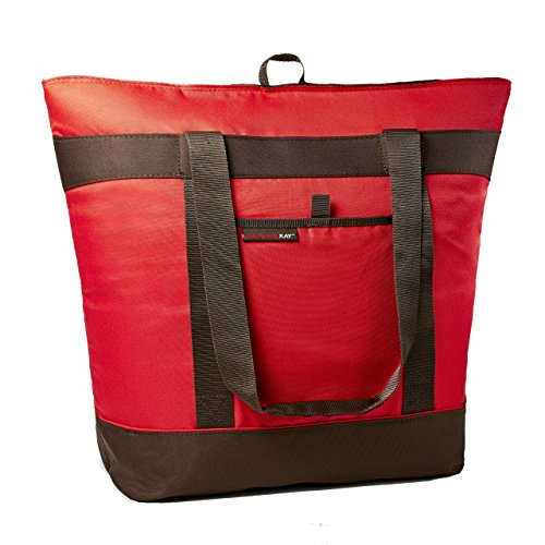 Rachael Ray Jumbo ChillOut Thermal Tote, Red