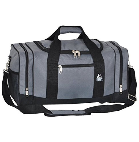 Everest Luggage Sporty Gear Bag (OneSize, Dark Gray)