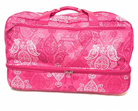 Vera Lighten up wheeled carry on luggage Stamped Paisley