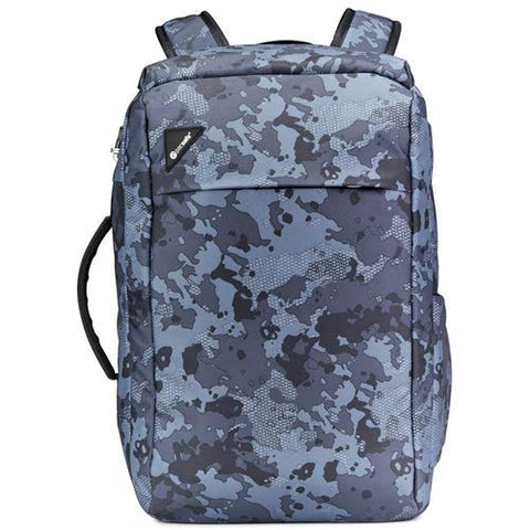 Pacsafe Vibe 28L Anti-Theft Backpack - Grey Camo Weekender Bag, One Size