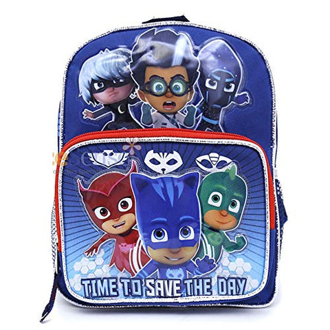 "PJ Masks TIME TO SAVE THE DAY Mini 10"" Backpack"