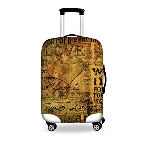 doginthehole London Vintage Stylish Design Suitcase Cover Anti-Dust 22-30 inch New