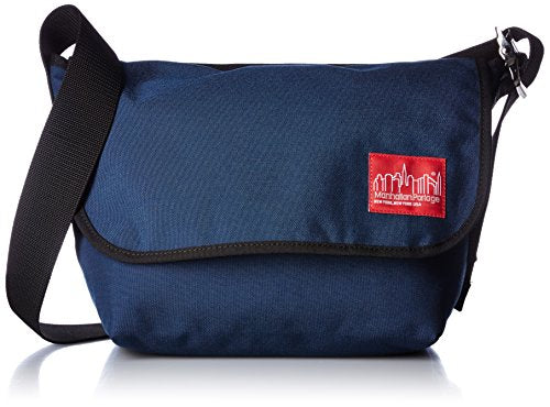 Manhattan Portage Vintage Junior Messenger Bag, Navy, Medium