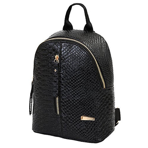 Clearance! Women Teen Girls Fashion Pu Leather Backpack Purse Shoulder Bag Casual School Bag Travel