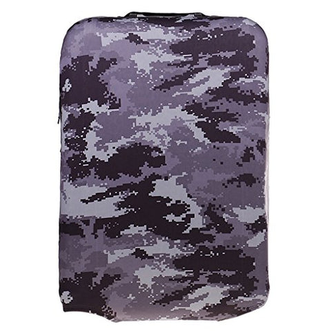 Monkeyjack 1Pc M 22-24'' Camouflage Elastic Spandex Luggage Cover Suitcase Protector Dust Proof #3