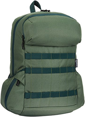Amazonbasics Sp-12867-42034-Dr Canvas Backpack For Laptops Up To 15-Inches - Forest Green