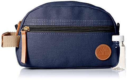 Timberland Men'S Travel Kit,Waxed Canvas Navy,One Size