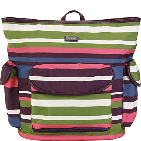 Hadaki City Backpack (Stripes)
