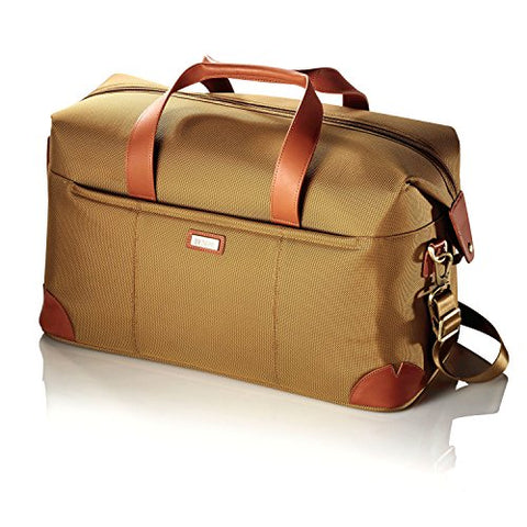 Hartmann Ratio Classic Deluxe Weekend Nylon Duffel Bag In Safari