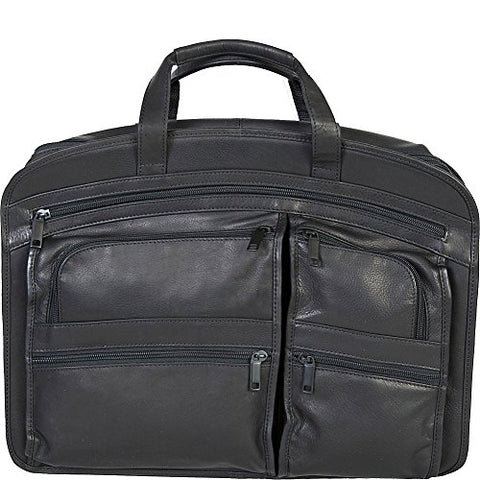 Scully Plonge Leather Workbag (Black)