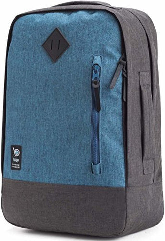 bago Fashion College Backpack for Travel, Business, Laptop & School (The Smooth Operator (Blue)