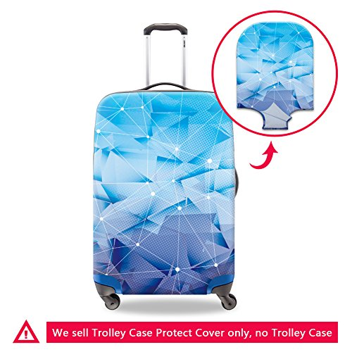 CrazyTravel Kids Spandex Dustproof Travel Suitcase Trunk Protector Luggage Covers