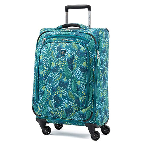 Atlantic Ultra Lite Softsides Carry-On Exp. Spinner, Lulu Green
