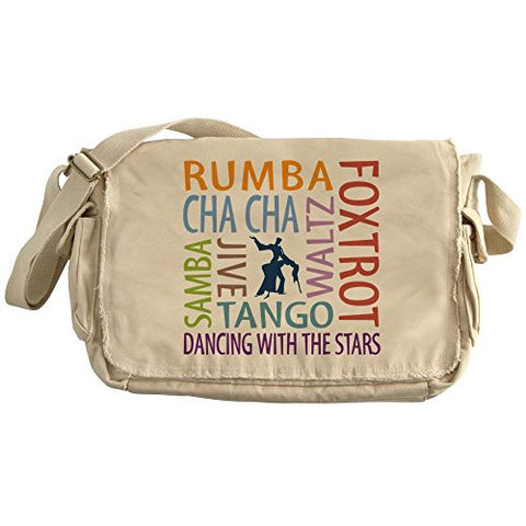 Cafepress - Ballroom Dancing Dtws - Unique Messenger Bag, Canvas Courier Bag