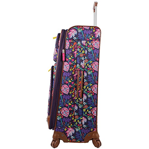 04d5f11f0081 Shop Lily Bloom Luggage Set 4 Piece Suitcase Collection With Spinner ...