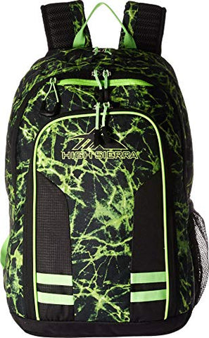 High Sierra Blaise Backpack, Limefire/Black