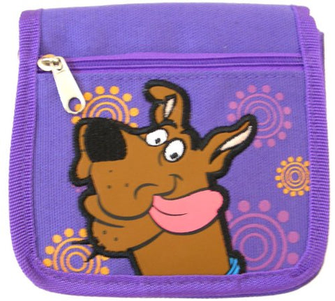 Warner Bros Scooby Doo Strap Wallet (Purple)