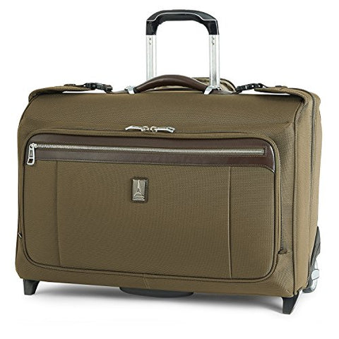 Travelpro Platinum Magna 2 Carry-On Rolling Garment Bag, Olive