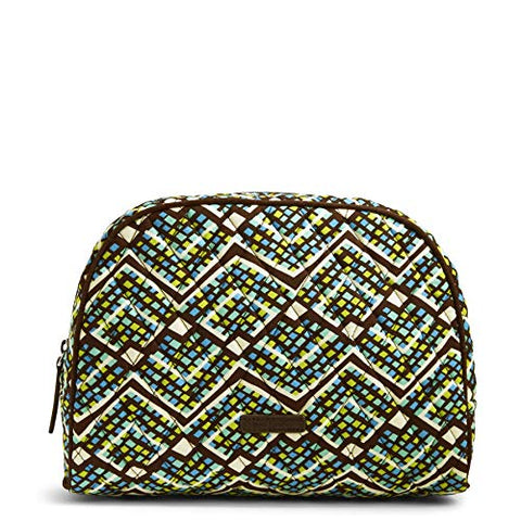 Vera Bradley Large Zip Cosmetic, Rain Forest
