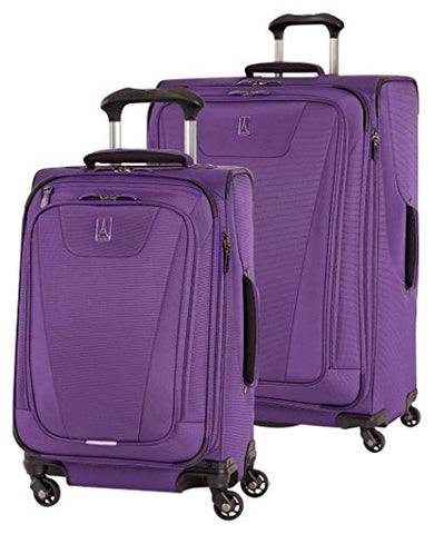 "Travelpro Maxlite 4 Expandable Spinner 2 Piece Set (21""/29""), Purple"
