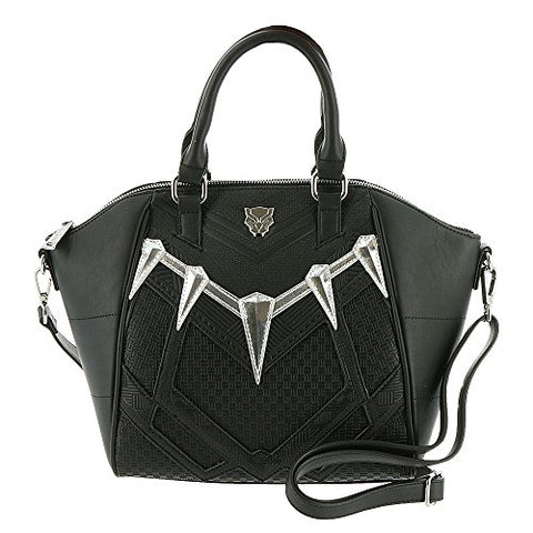 Loungefly Black Panther Faux Leather Handbag Standard