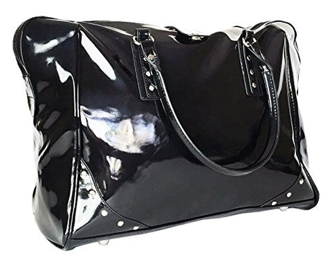 "Trendy Flyer 19"" Large Duffel/Tote Bag Luggage Travel Gym Purse Case Black"