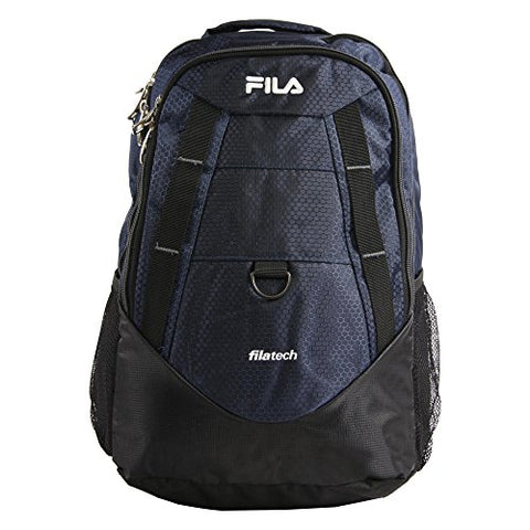 Fila Spike Laptop Backpack, NAVY/GREY One Size