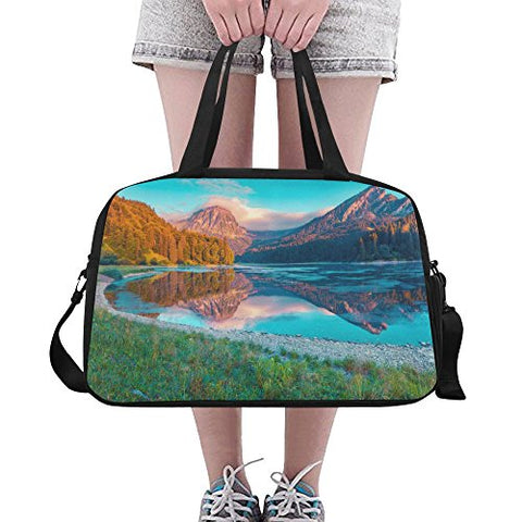 Unique Debora Custom Weekend Travel Bag Unisex Travel Gear Luggage For Summer Sunrise Beautiful