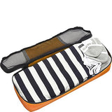 eBags Slim Packing Cubes for Travel - Organizers - 3pc Set - (Tangerine)