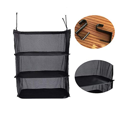 Portable Stow-N-Go Portable Suitcase Shelves Hanging Luggage Packing Organizer