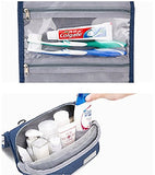 Hgdgears Travel Toiletry Bag With Hanging Hook,Portable Travel Makeup Bag,Cosmetic Organizer Bag