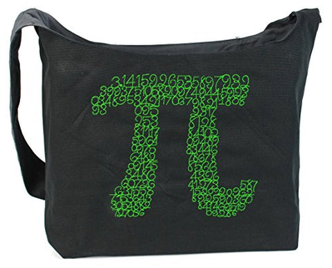 Dancing Participle Pi Embroidered Sling Bag