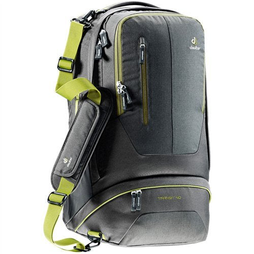 Deuter Transit 40 Backpack - Anthracite/Moss