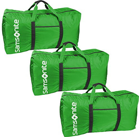 "Samsonite Tote-A-Ton 32.5"" 3-Piece Duffel Set (Green)"
