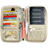 Passport Wallet Multiple Family Passport Holder Travel Document Organizer Women