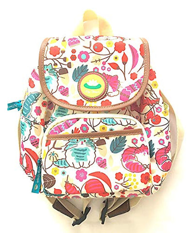 Lily Bloom Marley Backpack in LOVE CATS Pattern; Multi-purpose Eco Friendly Bag