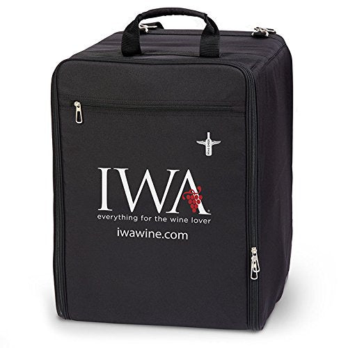 Wine Check Luggage Complete Set Black #7743