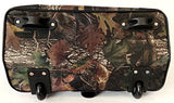 Trendy Flyer Computer/Laptop Rolling Bag 2 Wheel Case Camo Black