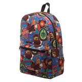 Ready Player One Patches Sublimated Backpack Standard
