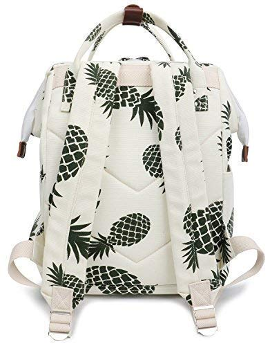 0a072f3d18cc FITMYFAVO Stylish Doctor Style Multipurpose School Travel Backpack for Men  Women - Pineapple