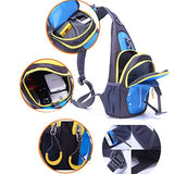 Portable Multi-Functional Water Repellent Unisex Outdoor Sports Chest Pack Bum Bag Sling Bag Hiking