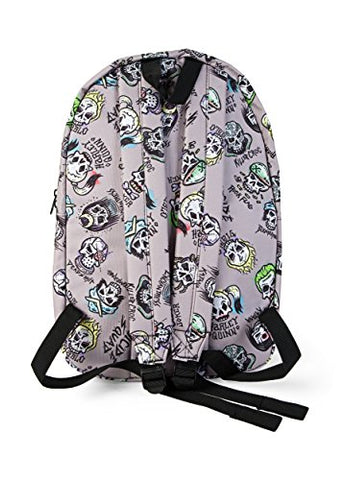 Suicide Squad All Over Printed Skulls Sublimated Backpack