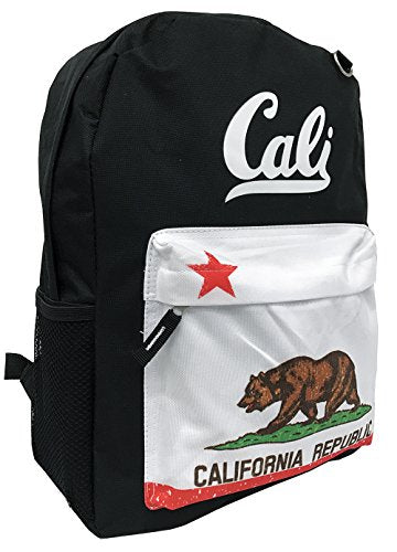 Track California Backpack (Black)