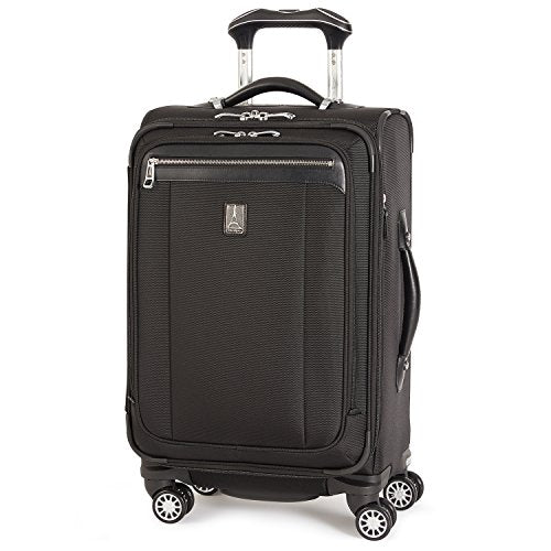 Travelpro Platinum Magna 2 Carry-On Expandable Spinner Suiter Suitcase, 21-in., Black