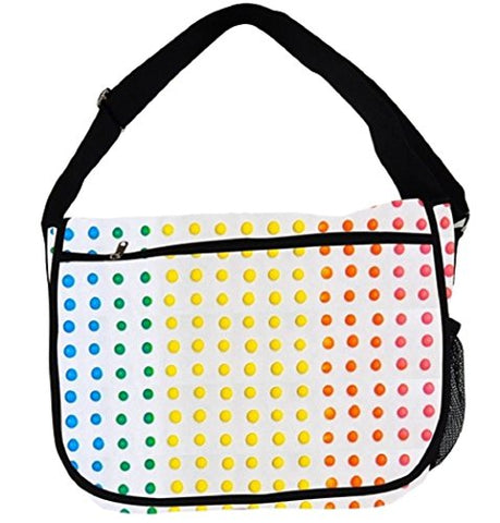 Sweets-A-Riffic Candy Messenger Bag (Button Candy)