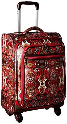 Sakroots Women's New Adventure Carryon, Ruby Wanderlust